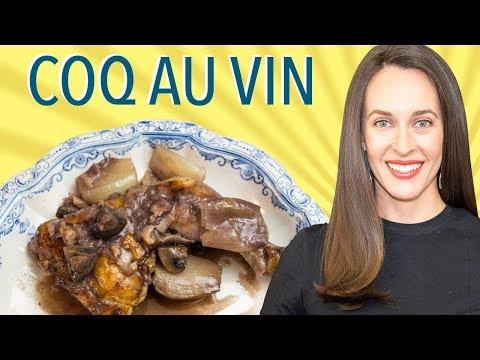 Coq Au Vin - Weeknight Recipe Demo - How to Make Coq Au Vin