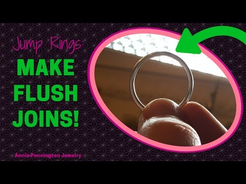 Jump Rings: How to Make a Flush Join Without Filing