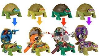 Teenage Mutant Ninja Turtles TMNT Micro Mutants Michelangelo Skate Park Leonardo Raphael Donetello