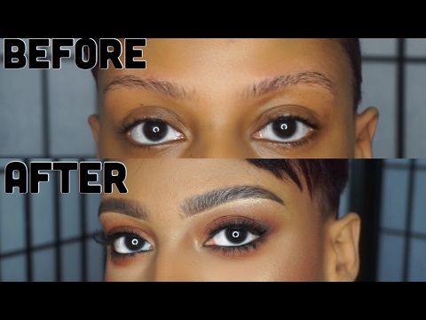♡ Updated Eyebrow Tutorial; How To Make Thin Brows Look Naturally Thick ♡
