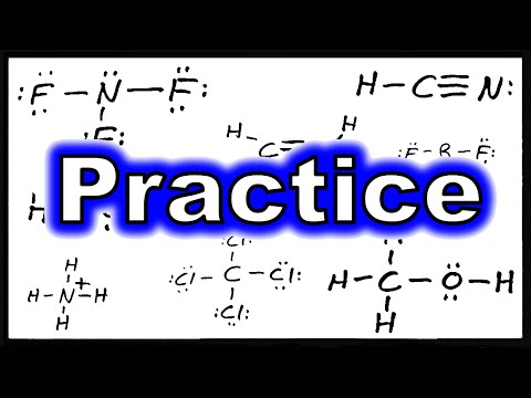 Lewis Theory VII:  Practice with Lewis Structures