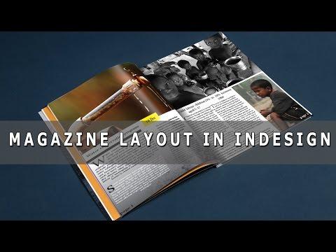 magazine design in indesign part 01[HINDI]