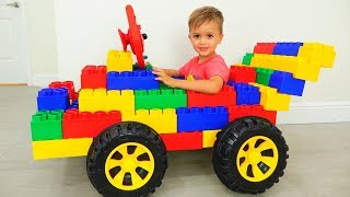 Download Vlad and Nikita play with Toy Cars - Collection for kids Video