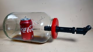 AWESOME Idea WOW! How to make Vacuum Chamber and Pump Easily