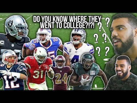 *IMPOSSIBLE QUIZ* Can You Name Where These NFL Players Went To College?!?!