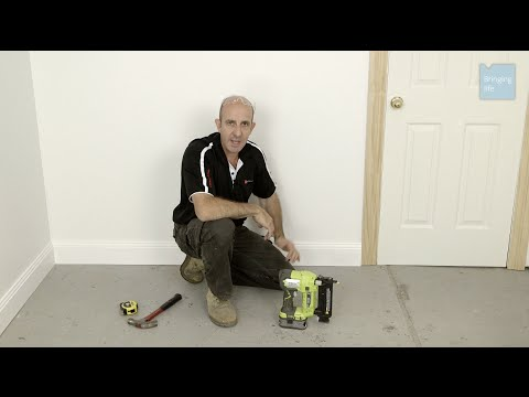 How to install skirting