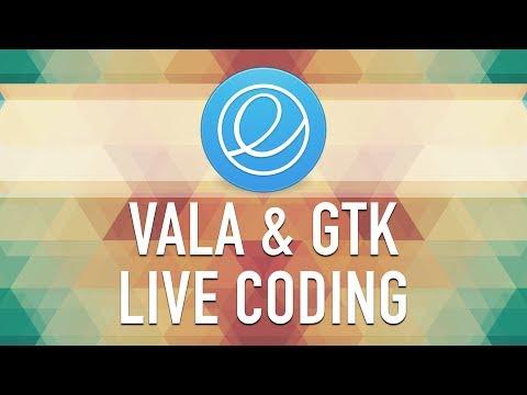 Alecaddd Live: Vala & GTK+ Live Coding