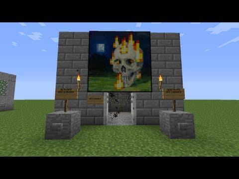 Minecraft Gas Chamber (Hidden Wiring)