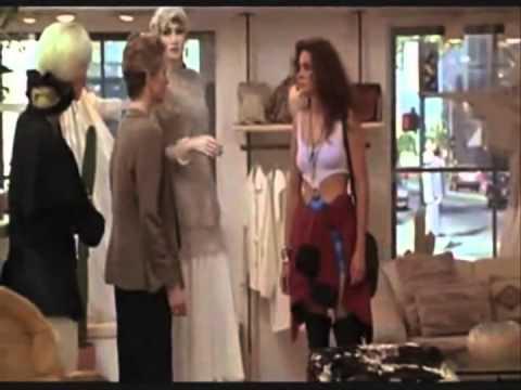Pretty Women Shopping both scences