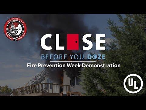 Close Before You Doze Demonstration Event