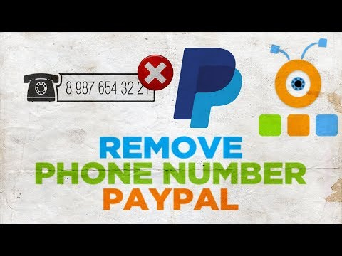 How to Remove Phone Number in PayPal | How to Delete Phone Number in PayPal