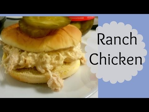 Ranch Chicken In The Crock Pot