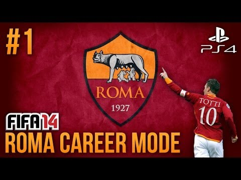 Next Gen FIFA 14: AS Roma Career Mode - Episode #1 - A REAL CHALLENGE!