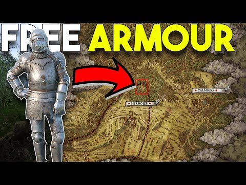 How To Get BEST PLATE Armour FREE! - Kingdom Come Deliverance TUTORIAL