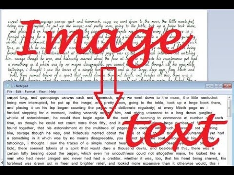 Convert a Image to Text With 100% accuracy (FOR ALL INDIA TYPING JOB) !!