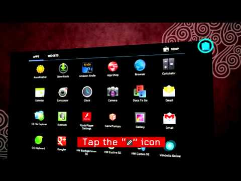 How to manage your APPs - Lenovo IdeaTab Tablet S2110A, A2109A, A2107A