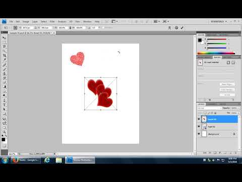Adobe Photoshop - How to Place an Image Into an Existing Document Import an Image