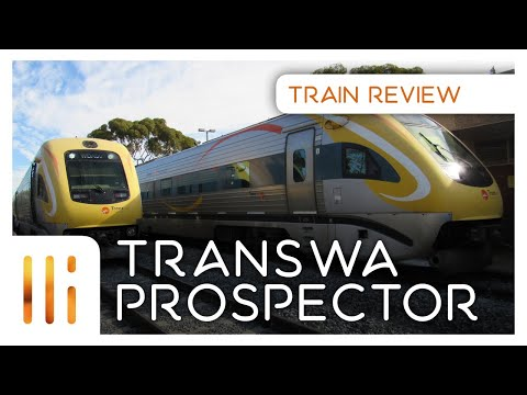 TransWA Prospector REVIEW: Perth - Kalgoorlie SEAT/FOOD/SCENERY