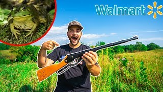 BULLFROG HUNTING with Walmart