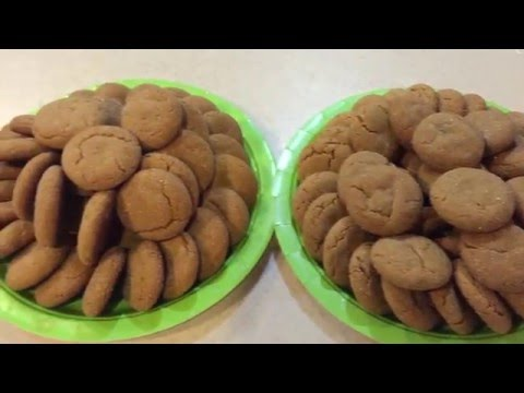 Bite Sized Soft Ginger Molasses Cookies – My most popular cookie!