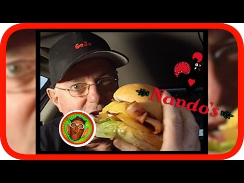 Nando's Loaded Classic Burger Review
