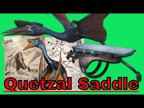 How to spawn in a Tamed Quetzal and Platform Saddle in ark Xbox One