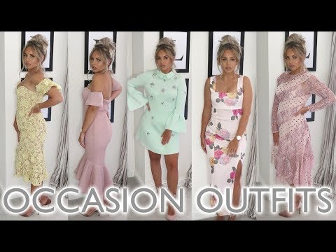 WHAT TO WEAR TO A WEDDING | OCCASION DRESSES | Lucy Jessica Carter