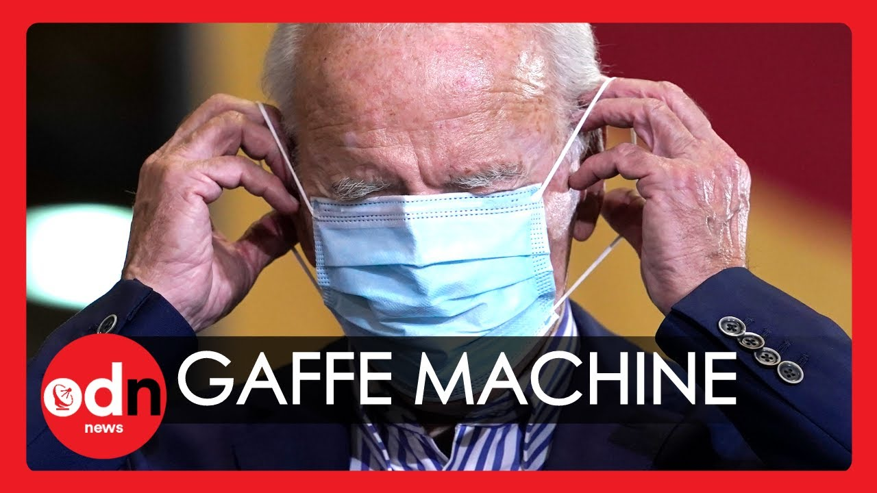 Joe Biden's Most Awkward Gaffes Of All Time (Part 3)