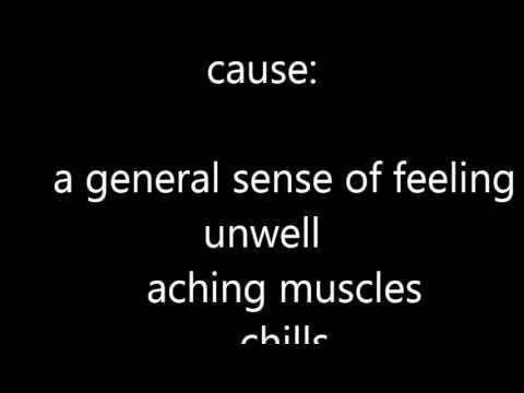 Glandular Fever Symptoms