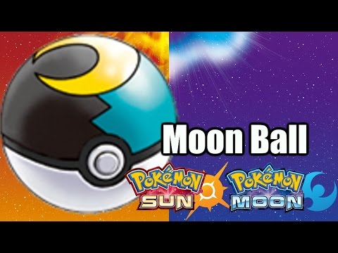 How to get the Moon Ball in Pokemon Sun & Moon