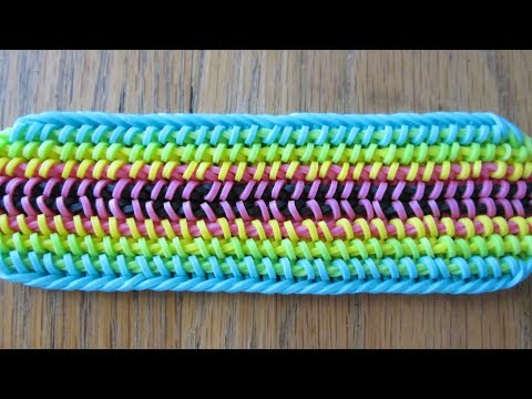 Rainbow Loom- Grade-A Fade Bracelet (Original Design)
