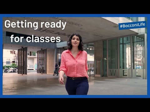 #BocconiLife - How to get ready for classes