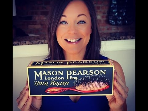 Mason Pearson Hair Brush Review | Chicago Style Icon