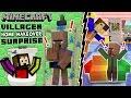 Villager Home Makeover Surprise Minecraft Furniture Mod Fun