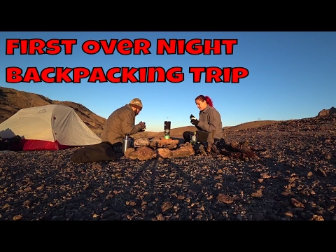 My Wife's First Over Night Backpacking Trip