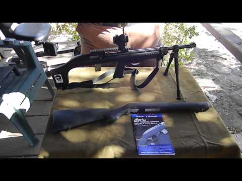 Badger M 22  bull pup rifle stock