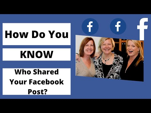 How Do You Know Who Shares Your Facebook Posts