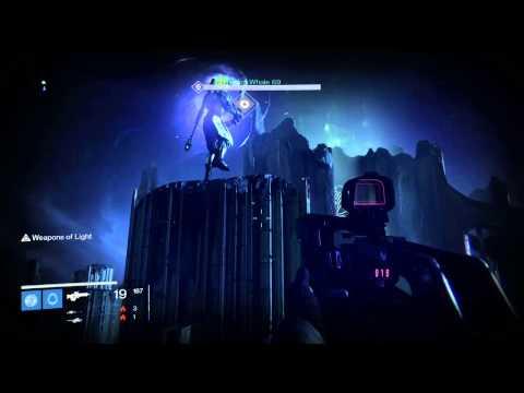 Destiny Crotas End Bridge Checkpoint [glitch across the bridge with the sword]