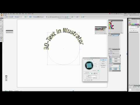 How To Create 3D-Text-On-Path-Using Illustrator-CS4.mov