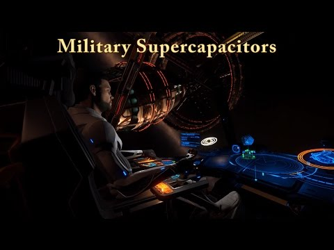 Elite Dangerous Military Supercapacitors (Shown fast and simple)