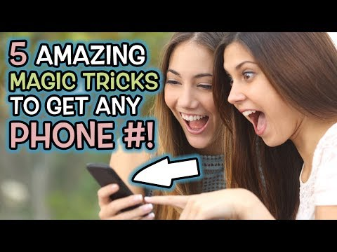 5 BEST MAGIC TRICKS to Get ANYONE'S Phone Number! (How to Blow Girls or Guys Minds!)