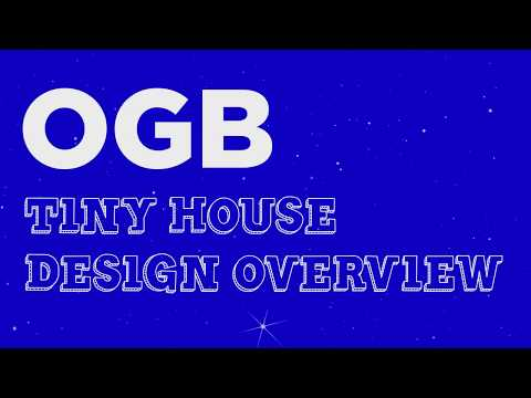 Overview   Part 1 of Designing a Tiny House in Sketchup