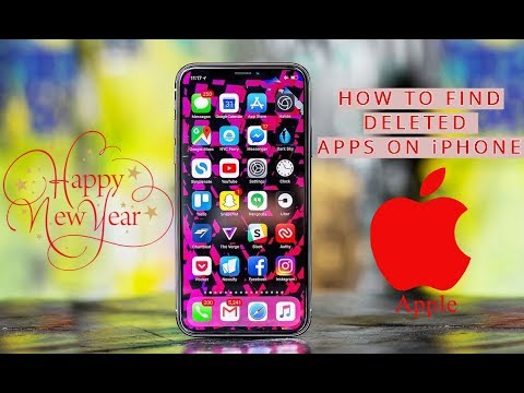 How to Find Deleted Apps on an iPhone or iPod Touch