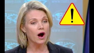 Heather Nauert Argues With Angry Reporters About United States Staying Silent On Palestinian Deaths!