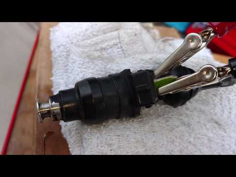 Leaking Fuel Injector Test