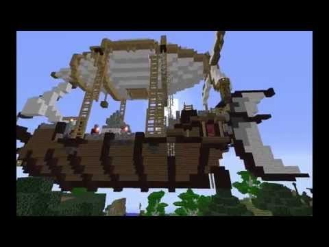 Hexx: Reloaded Steampunk Airship Build!