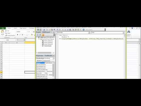 Microsoft Excel   Macro   How to display popup message in message box