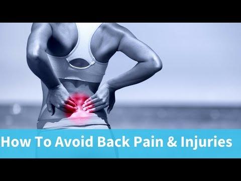 How To Avoid Back Injuries: Avoiding Back Pain