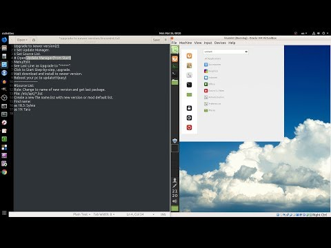 Linux Mint : Upgrade to Last Version   Test 18.3 to 19