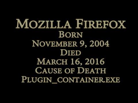 Mozilla Firefox is Dead